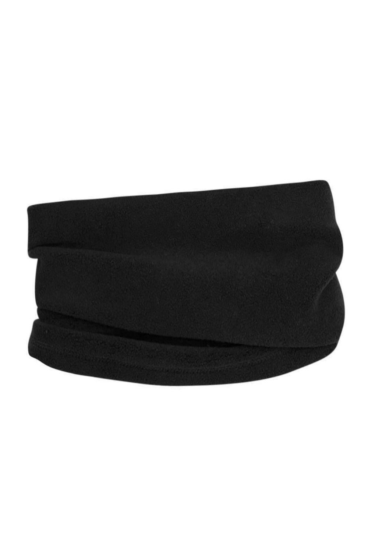 Fleece Neck Gaiter - Black