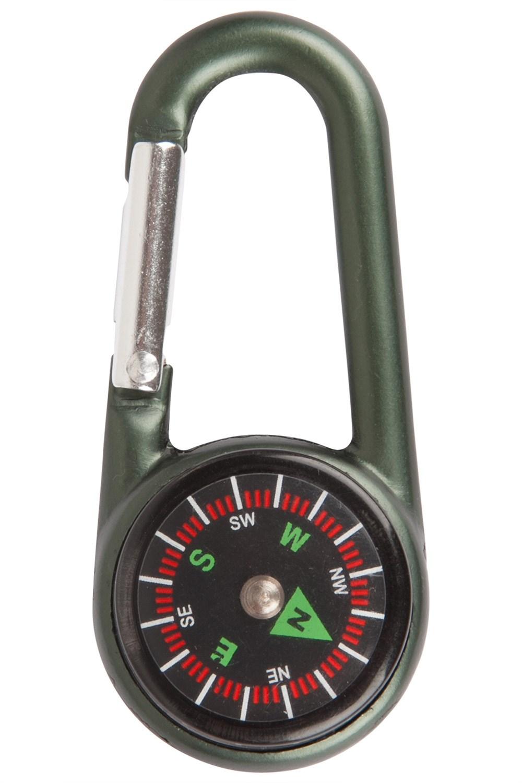 Compass Karabiner - Green