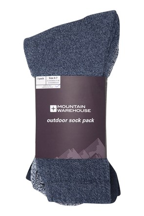 Outdoor Socken - 3er Pack
