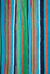 Striped Cotton Beach Towel