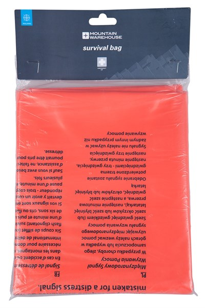 Survival Bag - Orange