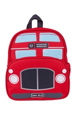 Kids Red Bus Bag