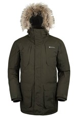 Canyon Down Mens Long Jacket