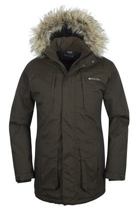 Mountain Warehouse Canyon Mens Long Waterproof Jacket | eBay