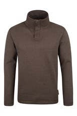 Alpha Mens Button Neck Top