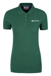 Forest Short Sleeve Womens Polo Shirt