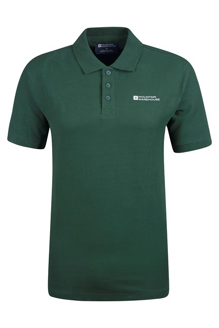 Forest Short Sleeve Mens Polo Shirt Mountain Warehouse Gb