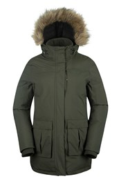 Ravine Womens Long Down Jacket