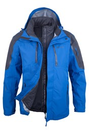 Zenith Extreme Mens 3 in 1 Waterproof Jacket