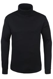 Meribel Mens Cotton Roll Neck Top