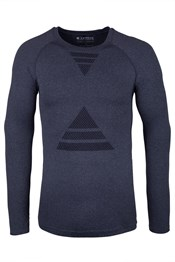 Nirvana Mens Long Sleeved Seamless Top