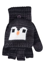Penguin Knitted Kids Glove