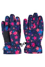 Printed Kids Ski Gloves