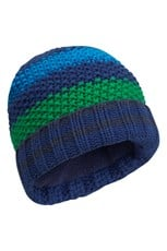 Knitted Multi Stripe Kids Beanie