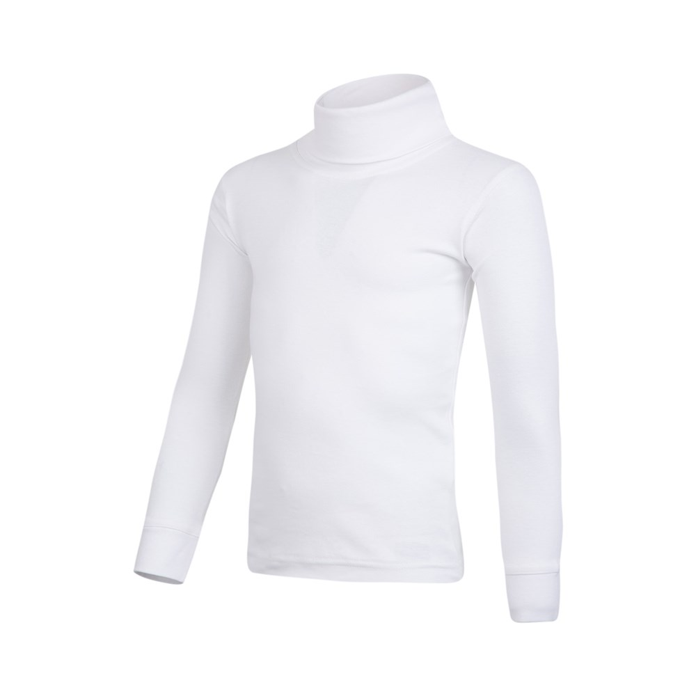 Mountain Warehouse Boys Lightweight Roll Neck Base Layer Breathable 100/% Cotton