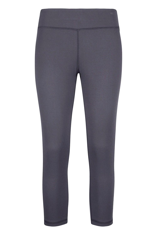 Karma Capri Womens Leggings - Grey