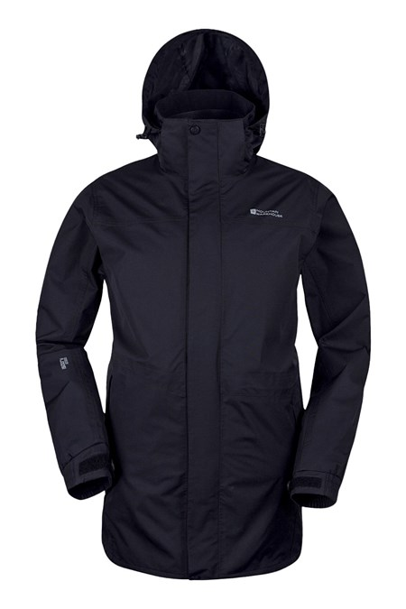 Glacier Extreme Mens Long Waterproof Jacket