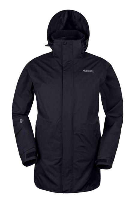 Glacier Extreme Mens Long Waterproof Jacket | Mountain Warehouse GB
