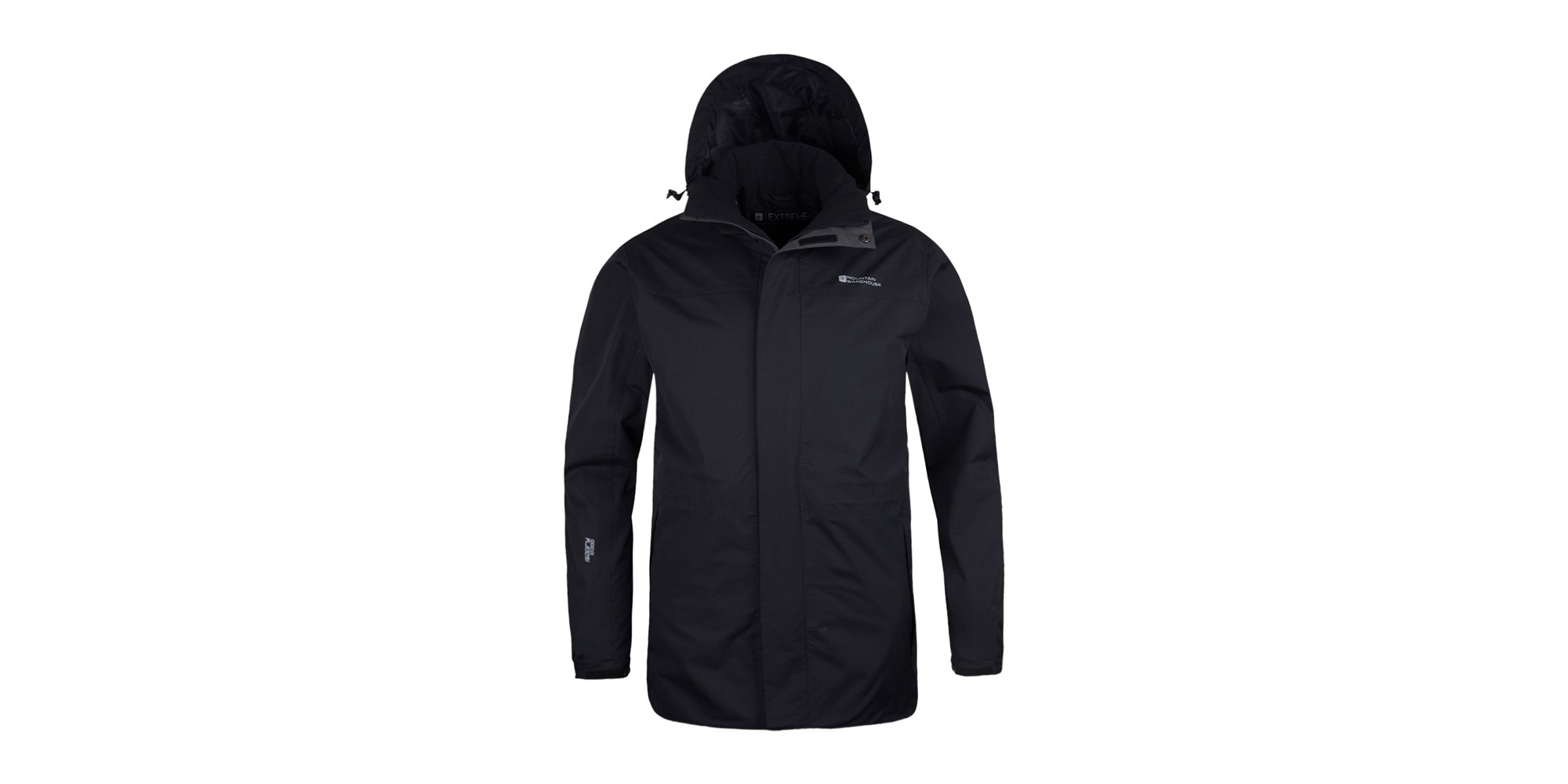 Mountain Warehouse Glacier Extreme Mens Long Waterproof Jacket | eBay