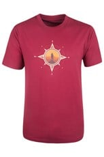 Compass Mens Cotton T-shirt