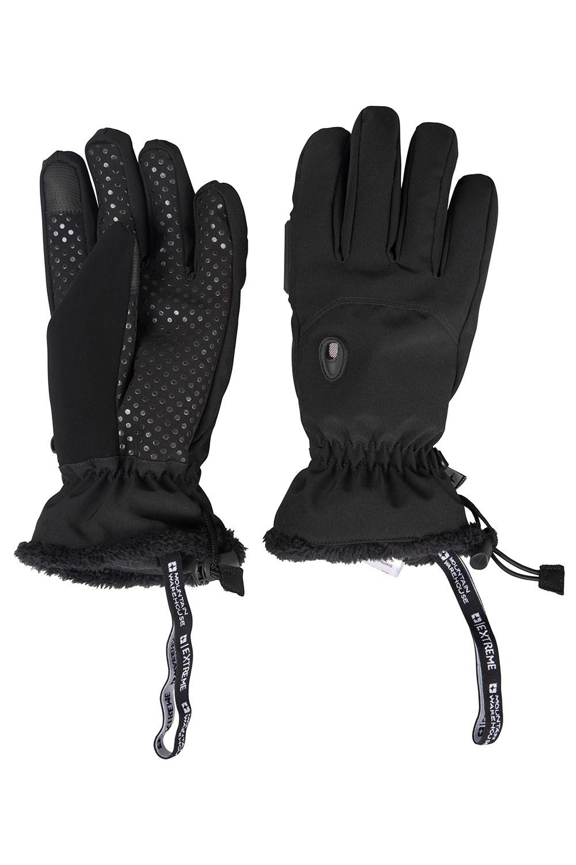 Womens leather ski gloves - Escalade Womens Waterproof Softshell Ski Gloves Mountain Warehouse Ca