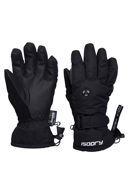 Extreme Waterproof Womens Ski Gloves - Black 978c0cc030a3