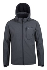 Glover Mens Waterproof Textured Softshell Jacket