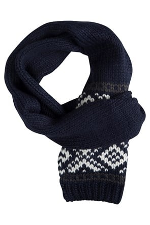 Chunky Knit Womens Scarf