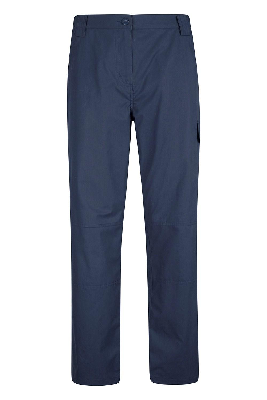Trek Womens Short Length Trousers - Navy
