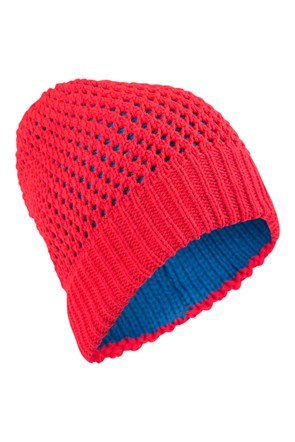 Reversible Womens Knitted Hat