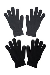 Magic Touchscreen Mens Gloves - 2Pk