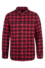 Valley Mens Flannel Lined Long Sleeve Shirt