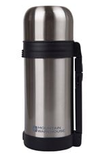 Stainless Steel Double Walled Traditional Flask 1.2L