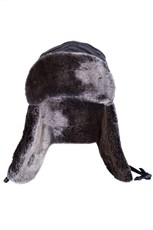 Gelid Mens Knitted Deer Stalker Hat