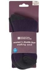 Double Layer Womens Walking Socks