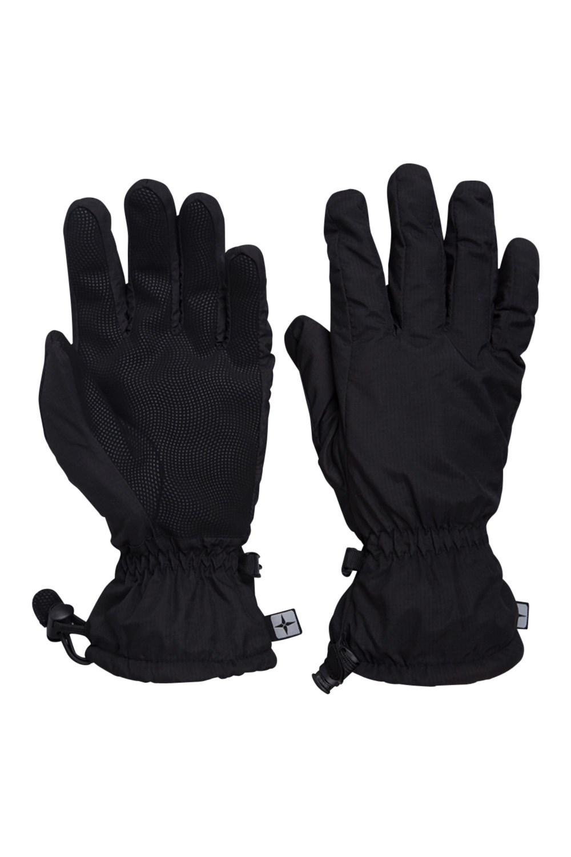 Classic Waterproof Mens Gloves - Black