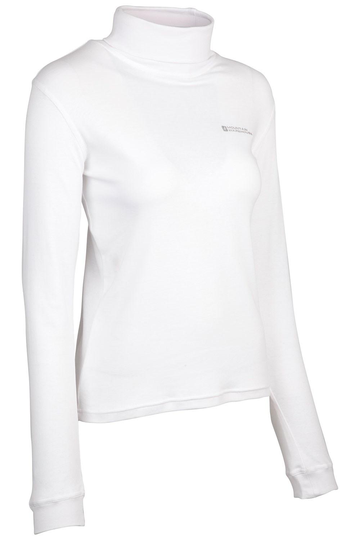 915594a50 Meribel Womens Cotton Roll Neck Top