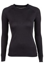 Talus Womens Long Sleeved Round Neck Top