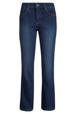 Deborah Womens Regular Length Bonded Fleece Denim Trousers
