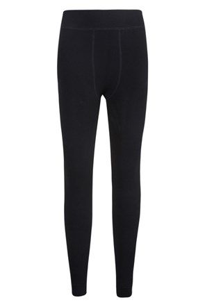 Womens Fluffy Fleece Lined Leggings