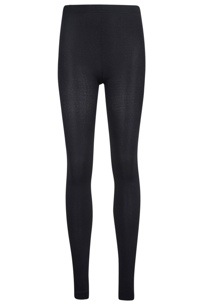 Isotherm Womens Brushed Leggings - Black