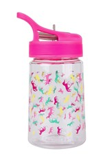 BPA Free Printed Plastic Kids Bottle - 350 ml