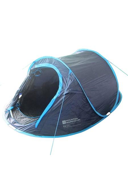 huge discount bb281 c30fc Pop Up Double Skin 3 Man Tent