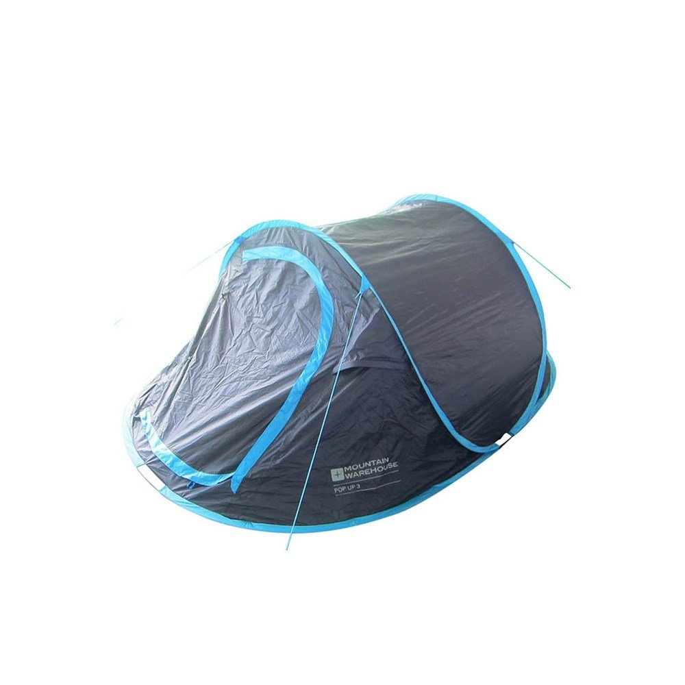 Mountain-Warehouse-3-Person-Pop-Up-Double-Skin-Tent-3-Man-Festival-Camping thumbnail 8