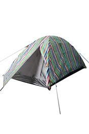 Patterned Festival Dome 2 Man Tent