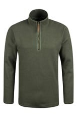 Beta Mens Windproof Zip Neck Top