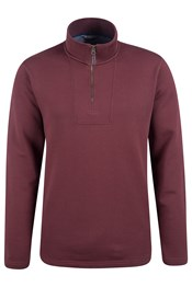 Sycamore Mens Zip Neck Top