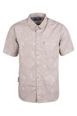 Palm Mens Short Sleeved Shirt
