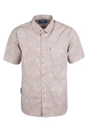 Palm Mens Short Sleeved Shirt