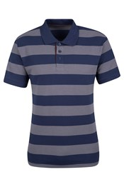Harpoon Mens Striped Polo Shirt